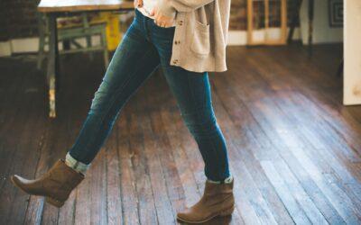 Lange strik cardigans er et must i garderoben
