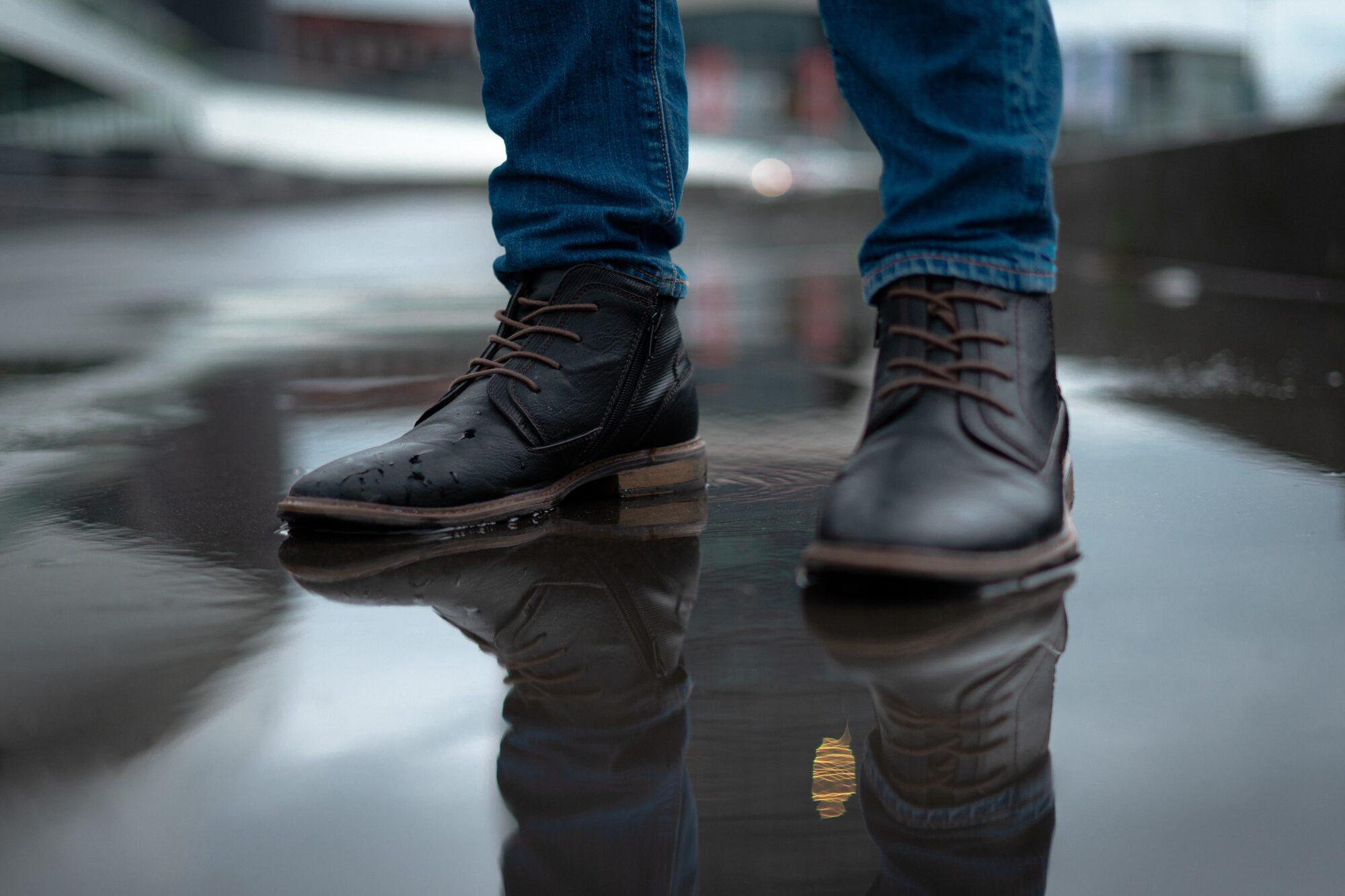 Herre støvler i allerhøjeste italienske kvalitet